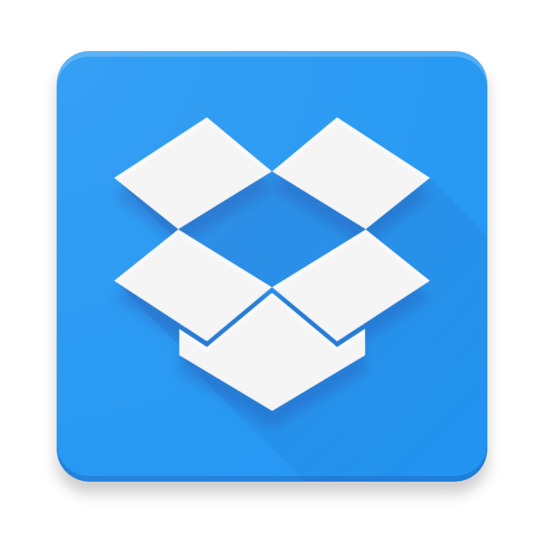 Material Design Icons And App Concepts Dropbox Material Design App Concept Material Design App Design Icon Design