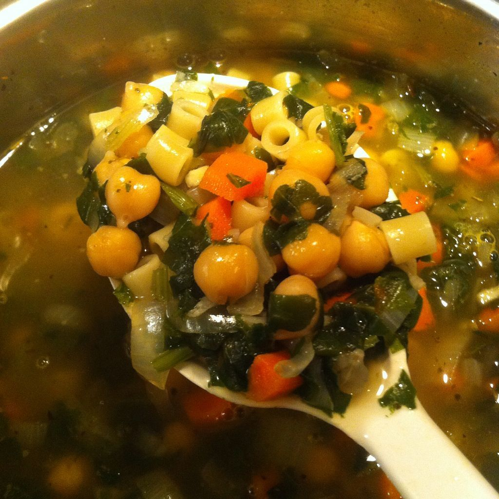 Food For Thought Friday: Chickpea Noodle Soup #chickpeanoodlesoup Food For Thought Friday: Chickpea Noodle Soup #chickpeanoodlesoup