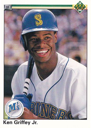 189f02d3b3 Ken Griffey, Jr. rookie year - Google Search | Baseball Cards ...