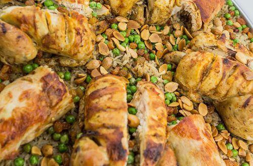 طريقة عمل الدجاج المحشي بالرز أو الفريكة طريقة Recipe Cooking Chicken Food