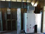 A Geothermal Heat Pump Provides Exceptionally Energy Efficient