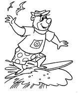 9 Yogi Bear Colouring Pages Printable Pages For Kids