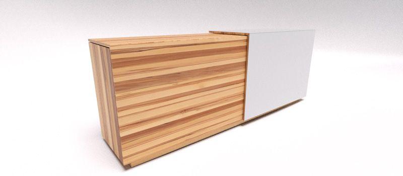 Ein wunderschönes Möbelstück eines österreichischen Premium Herstellers. Das TEAM 7 Cubus Sideboard für Thea Render