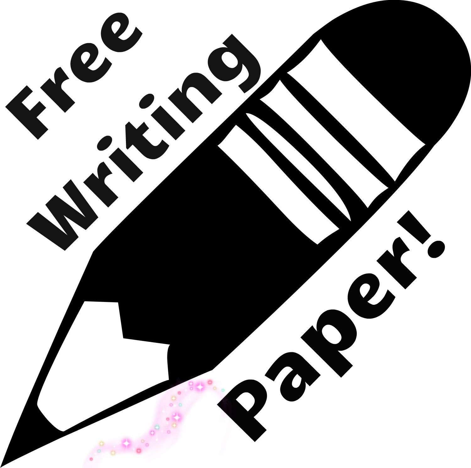 Free Writing Template With Space For Drawing