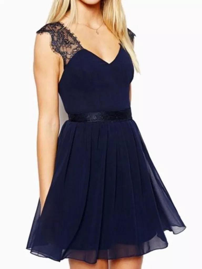 40 fabulous navy blau kleid ideen #fabulous #ideen #kleid
