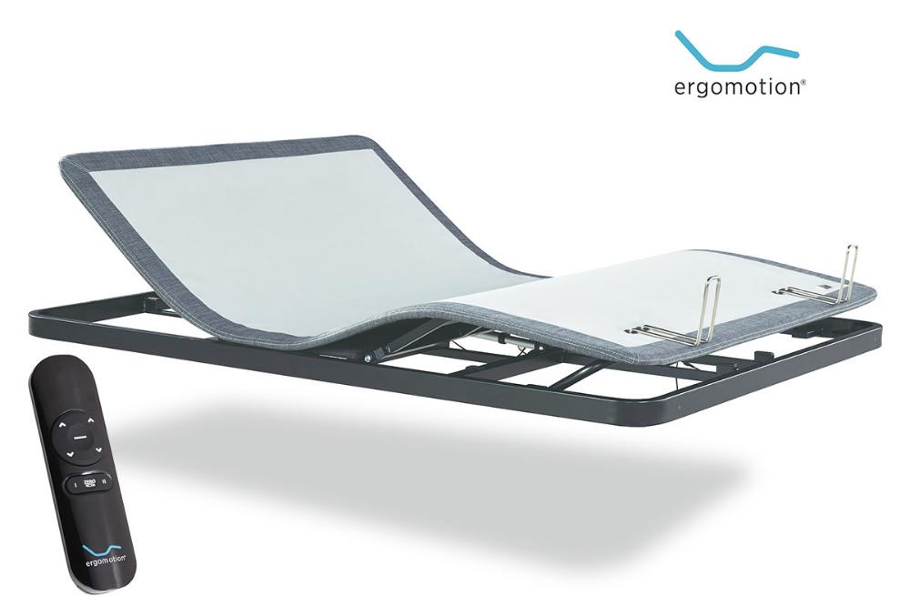 Image 1 Adjustable bed base, Bed frame with storage