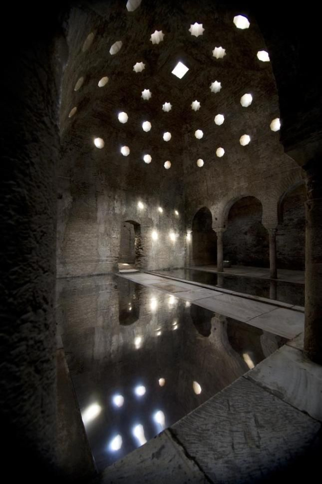 The Banuelo Baths The Old Arab Baths In Granada Banos Arabes Espana Alhambra De Granada