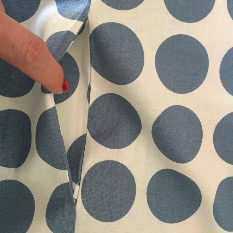 Tutoriel – Poches latérales – sin original – patrons, cours de couture et tissus   – Kleid selber nähen
