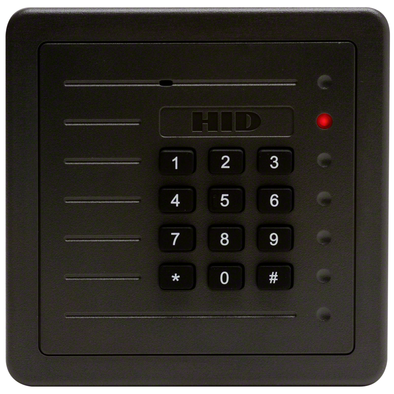 HID ProxPro With Keypad 5355 AGS00 125 kHz Wall Switch
