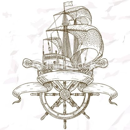 Resultado De Imagen Para Barcos Piratas A Lapiz Barcos Piratas Arte Dibujos