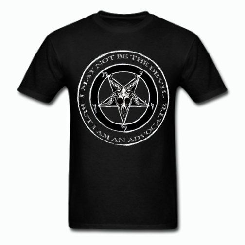Devil's Advocate T shirt by ThreadsoftheDead on Etsy