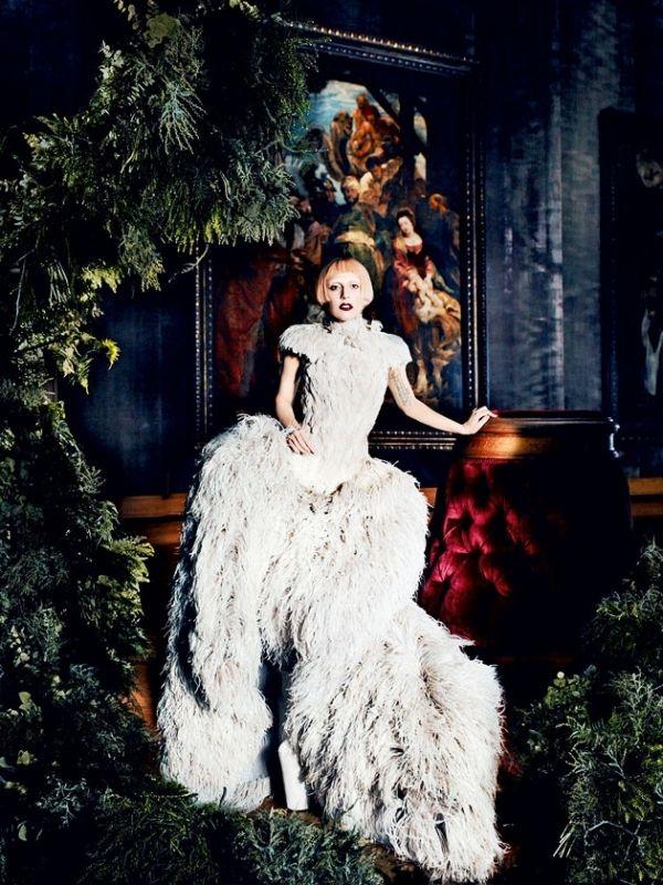 ladygagavoguemarch2011editorial_thumb #LadyGaga #AlexanderMcQueen #MarioTestino #Editorial #Barroque #Fashion