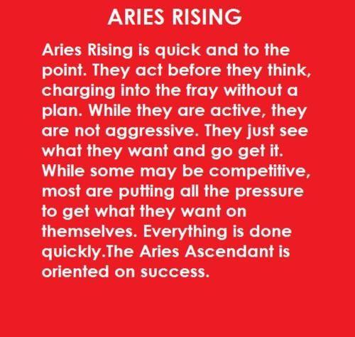 horoscope ascendant aries