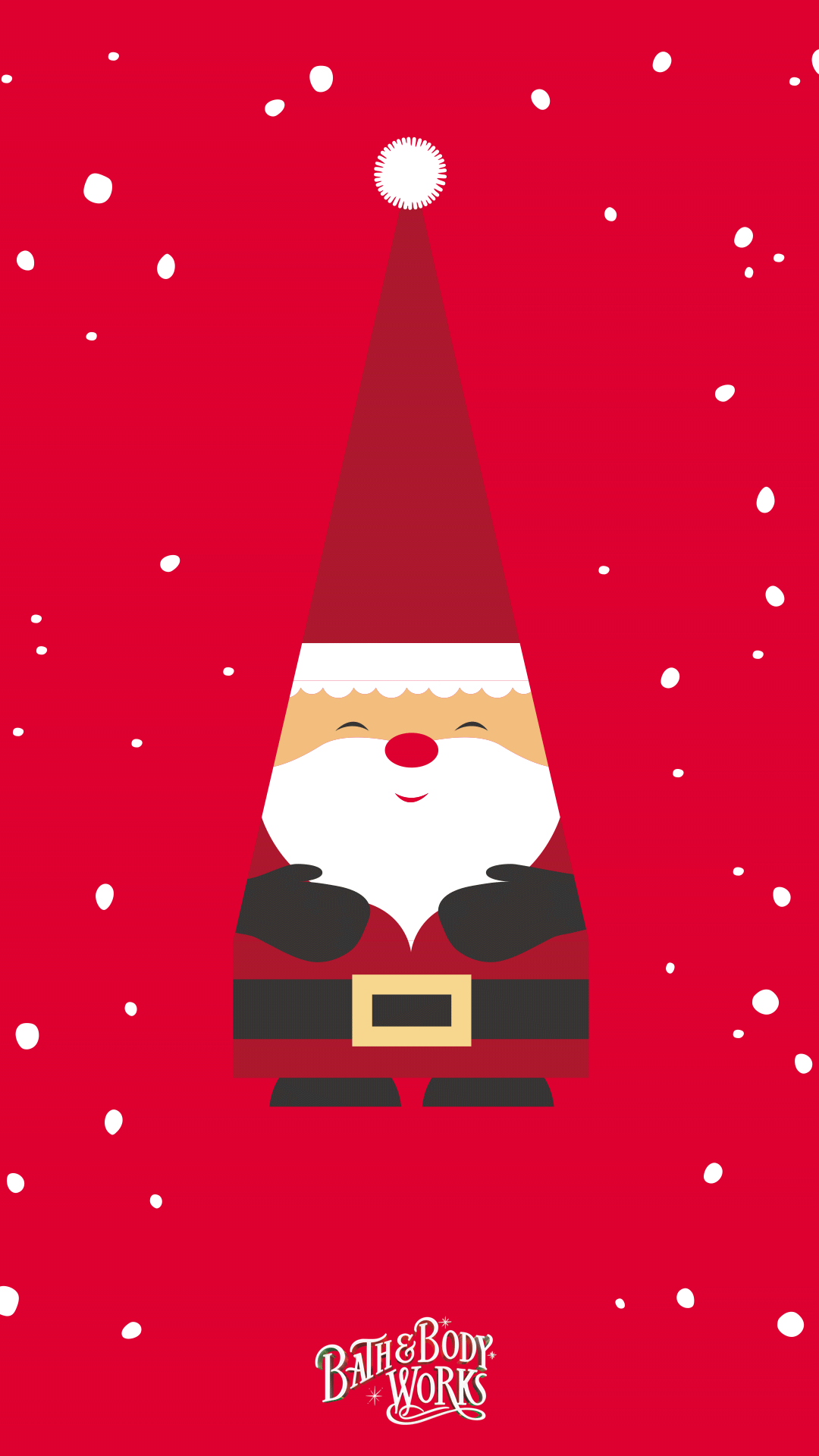 Santa Gnome Iphone Wallpaper Christmas Phone Wallpaper Christmas Wallpaper Wallpaper Iphone Christmas