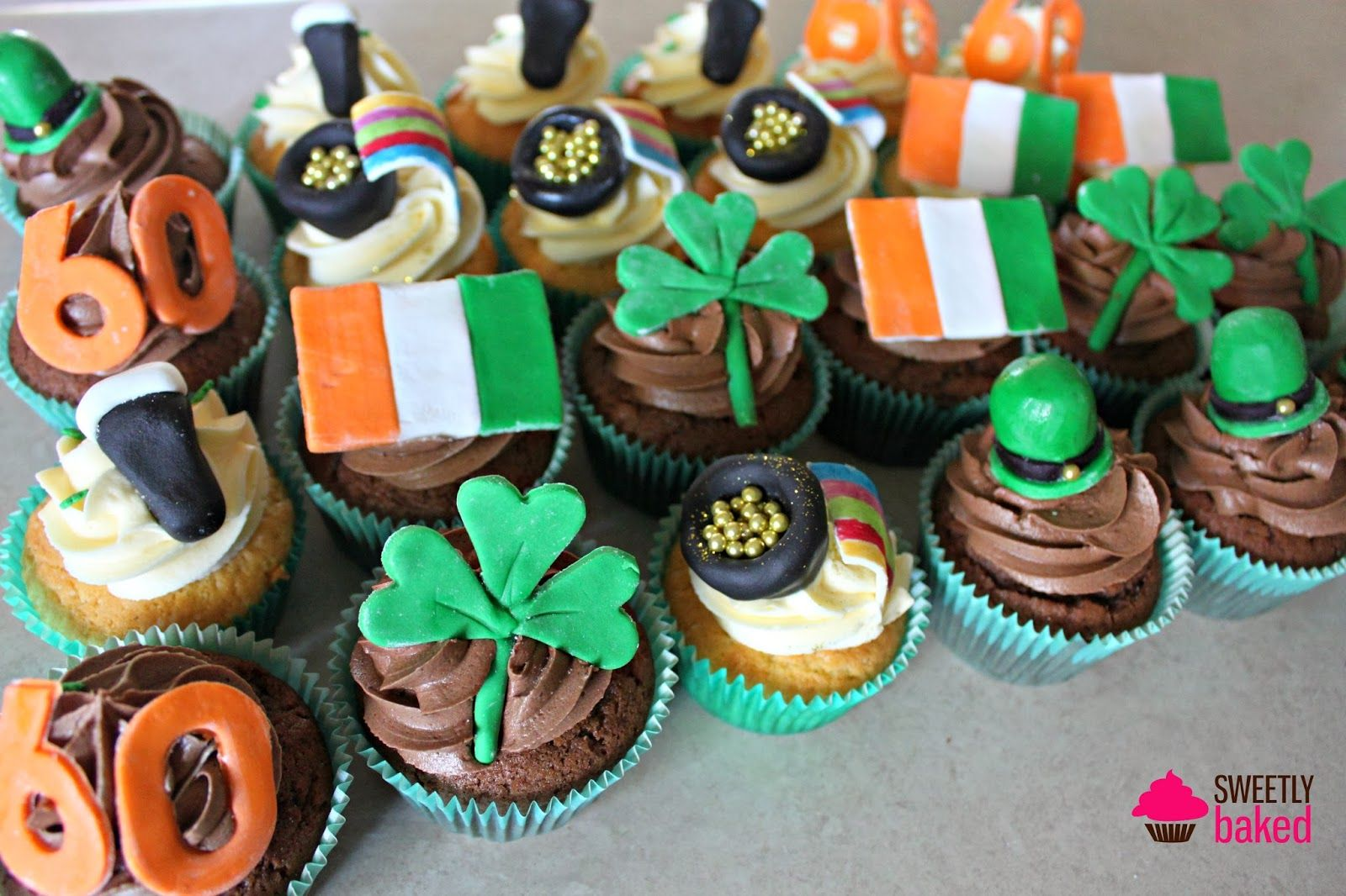 Sweetly Baked Perth St Patrick's Day Inspiration 60th