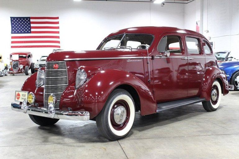 1938 model Studebaker Commander