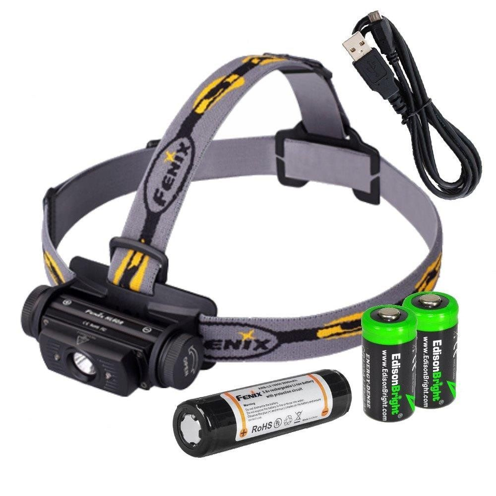 Fenix HL60R 950 Lumen USB Rechargeable CREE XM L2 T6 LED Headlamp, Fenix  18650