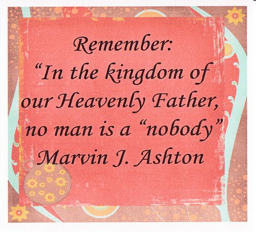 Lds Quotes On Family Home Evening: YW Lesson #39 Recognizing Our Individual Worth