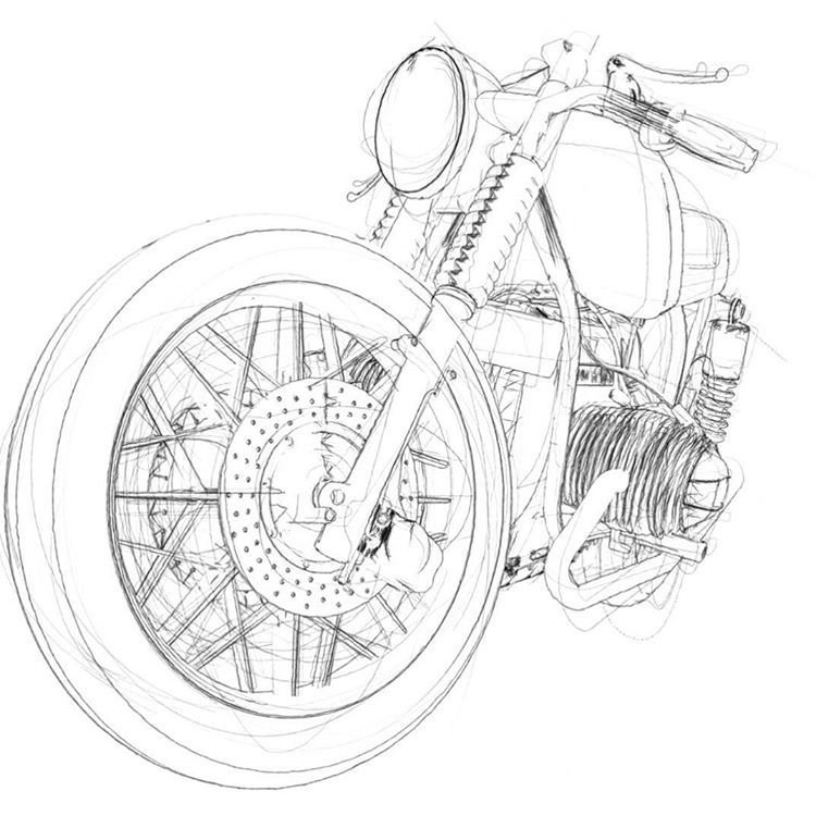 Bmw Caferacer Caferacers Airhead R100 Motorcyclecafe With
