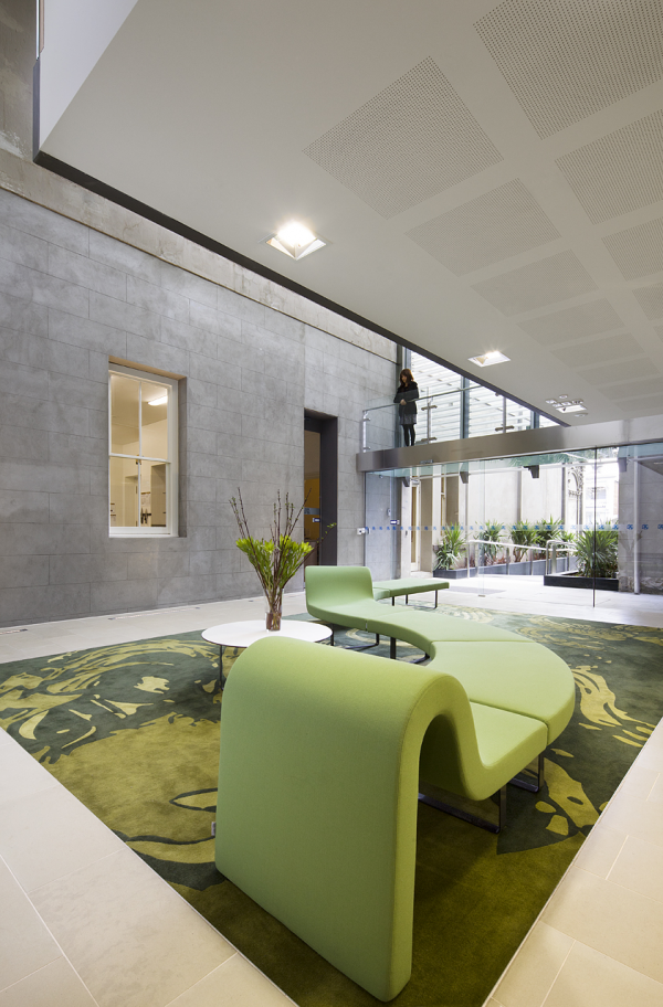 Medley hall melbourne design awards office reception space interior also places to visit in rh pinterest