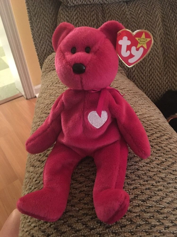 Rare TY MISSPELLED Valentina MINT Condition Swing Tag Beanie Baby ... 8402336f17b