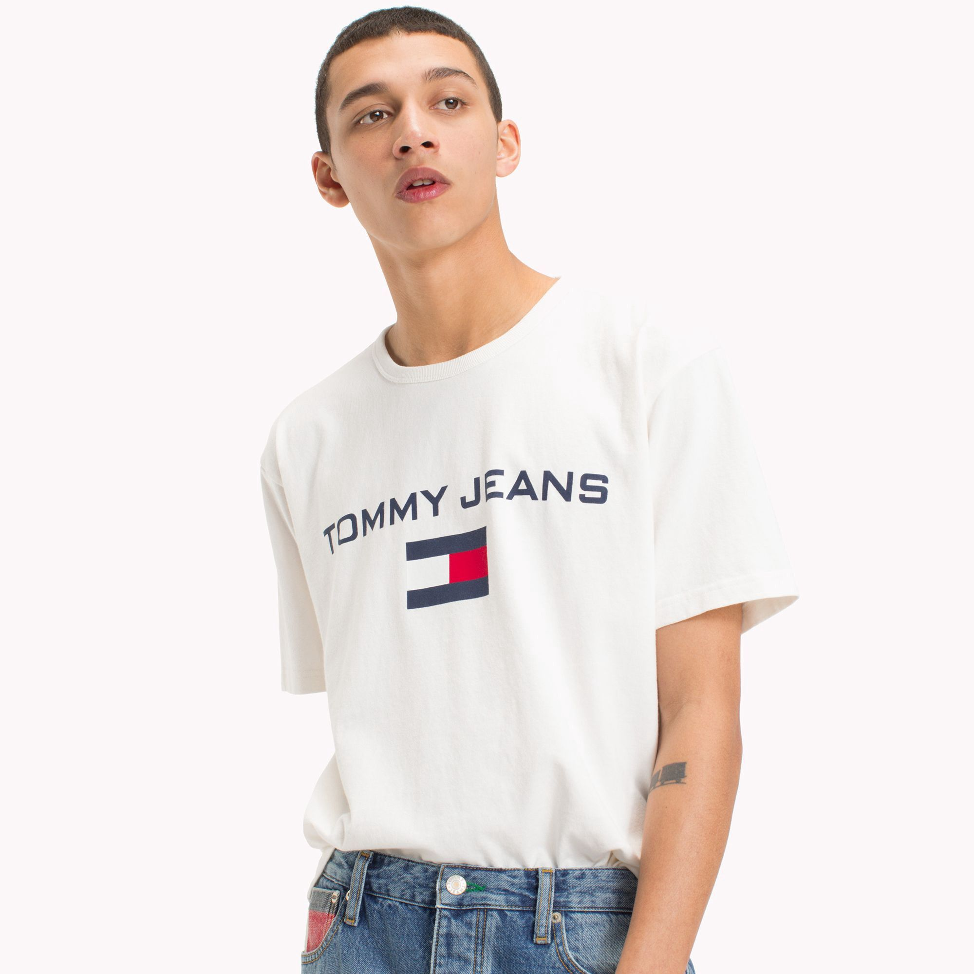 84a103dc060 Capsule Collection Logo T-Shirt by Tommy Hilfiger in 2018
