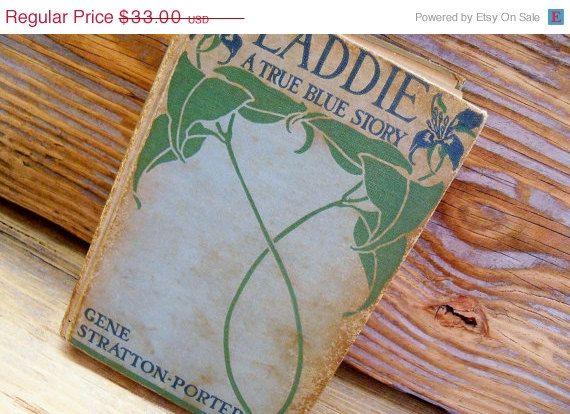 Antique Book Laddie A True Blue Story Gene Stratton Porter 1913.