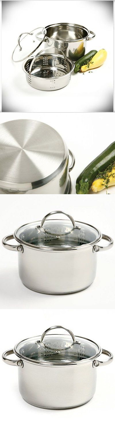 Cookers and Steamers 20672: 3 Piece Mini Pot Pan Stainless Steel Vegetable Food Steamer Cooker Kitchen New -> BUY IT NOW ONLY: $33.56 on eBay!