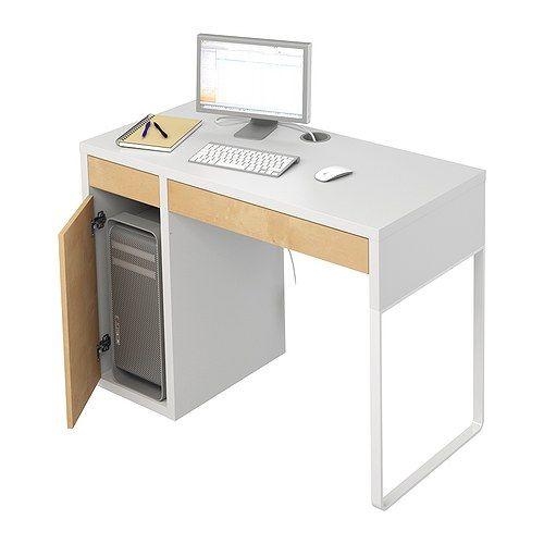 MICKE Desk, black-brown | Despacho, Mesas y Escritorios