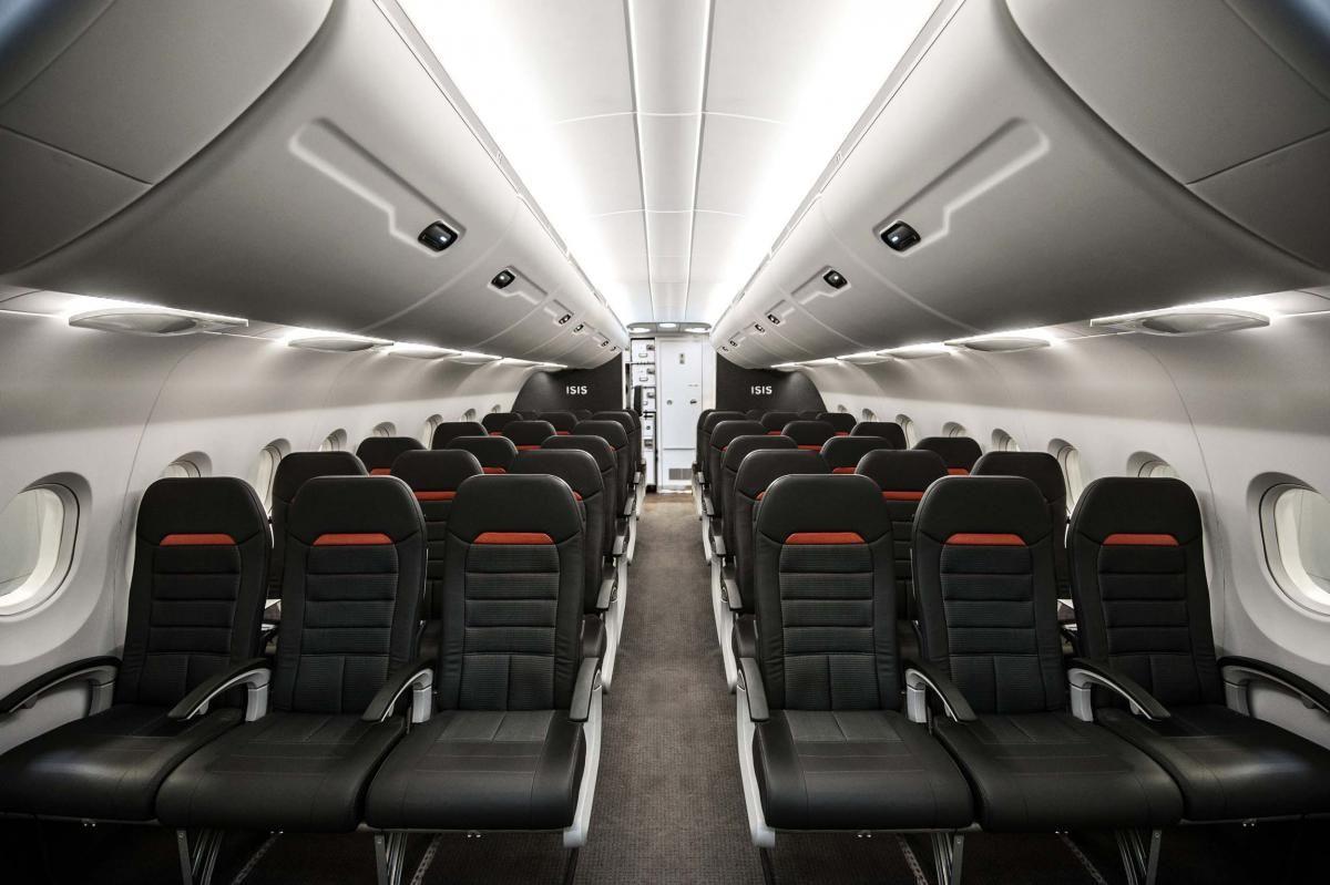 Zodiac Aerospace At Aircraft Interiors Americas Zodiac Aerospace Economy Seat Design