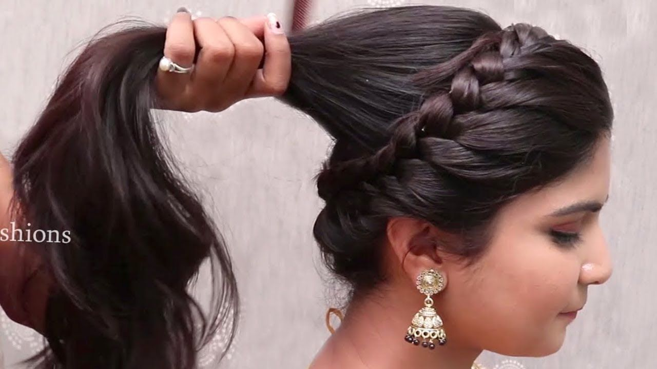 New Wedding Hairstyles For Long Hair Flowy Latest Bridal Hairstyle For Girls Wi In 2020 Bridal Hair Buns Wedding Hairstyles Tutorial Wedding Hairstyles For Long Hair