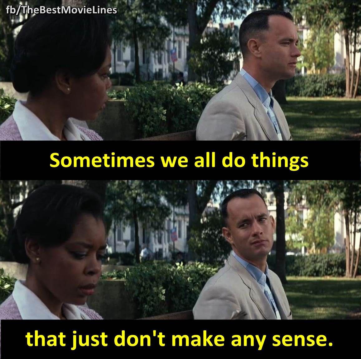 Forrest Gump Funny Quotes: - Tom Hanks In Forrest Gump 1994