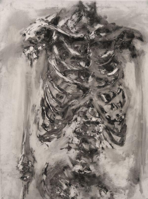 Skeletons by Meng Jia, via Behance | Anatomico | Pinterest | Inspiración