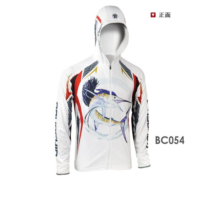 Men/'s Fishing Breathable Jacket Hooded Shirts Outdoor Sports Wear Quick Drying