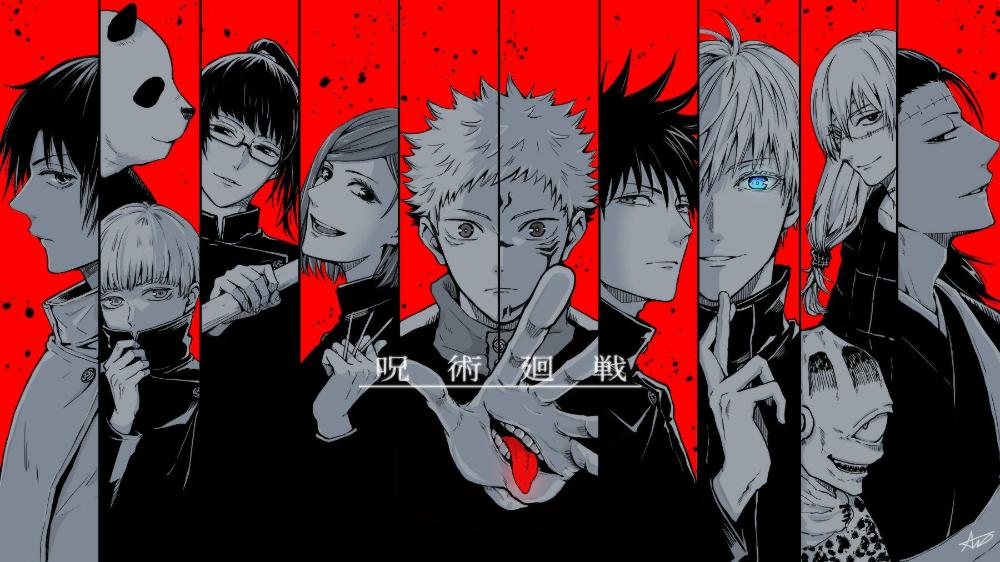 Jujutsu Kaisen Desktop Wallpaper Google Search Jujutsu Anime Aesthetic Anime