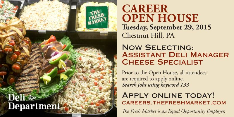 Asst Deli Manager Grocery Store Jobs Chestnut Hill PA