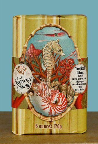 Tropical Fish Organic Shea Butter Soap Favor