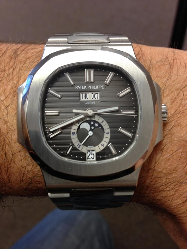 Patek Philippe Nautilus 5726 · Men's WatchesLuxury WatchesBlack ...