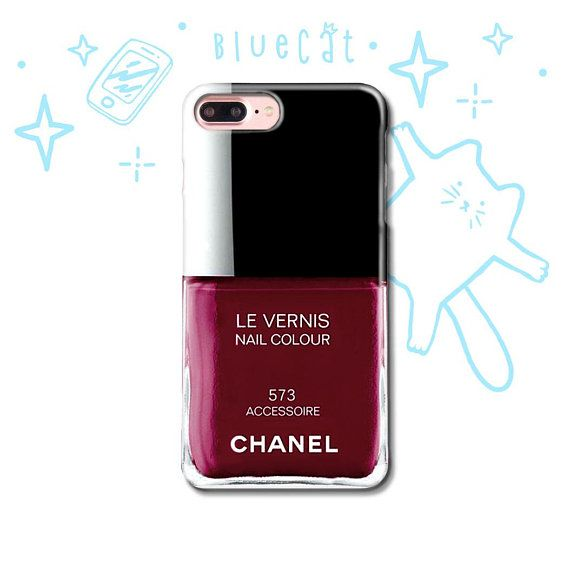 Coco Chanel Nail polish iPhone X Case iPhone 7 8 6 5 5S SE | IPhone ...