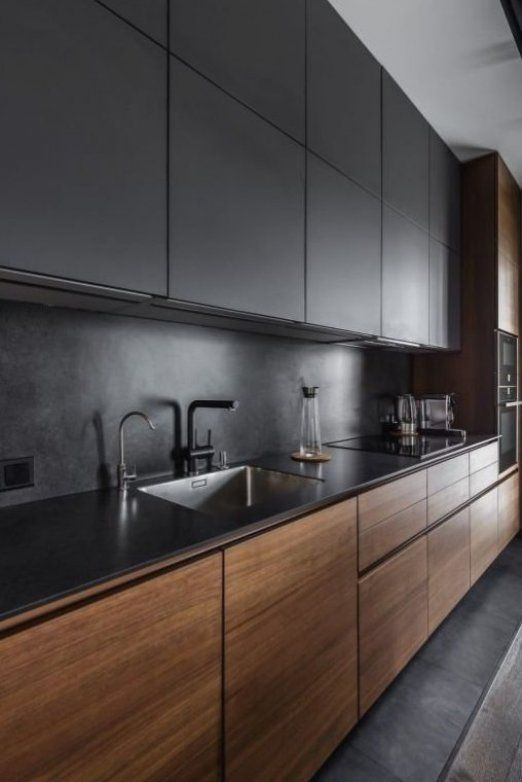 Photo of 44 Amazing Black Kitchen Design Ideas – ROUNDECOR  Amazing  Black  design  ideas…