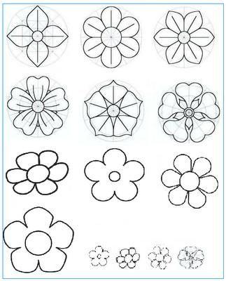Mi Coleccion De Dibujos Distintas Flores Para Pintar Mi Olc