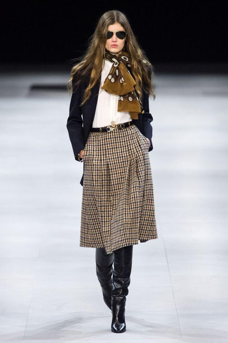 Celine Herbst 2019 Konfektionierte Modenschau  #Celine #Herbst #Mode #ReadytoWear #Show #fallmakeuplooks