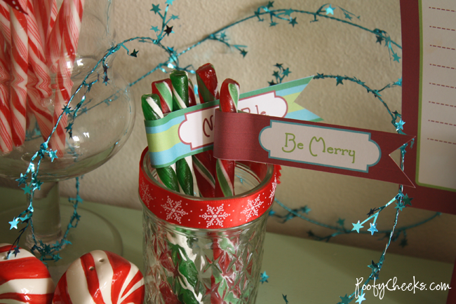 North Pole Elf Christmas Brunch and Free Printables - Poofy Cheeks