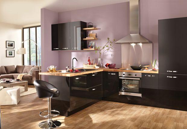 top cuisine tendance with modele cuisine conforama. Black Bedroom Furniture Sets. Home Design Ideas