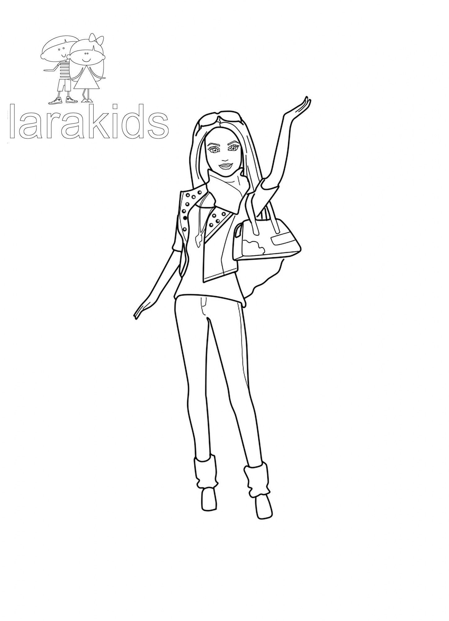 Пин от пользователя Марина на доске Barbie coloring book ...