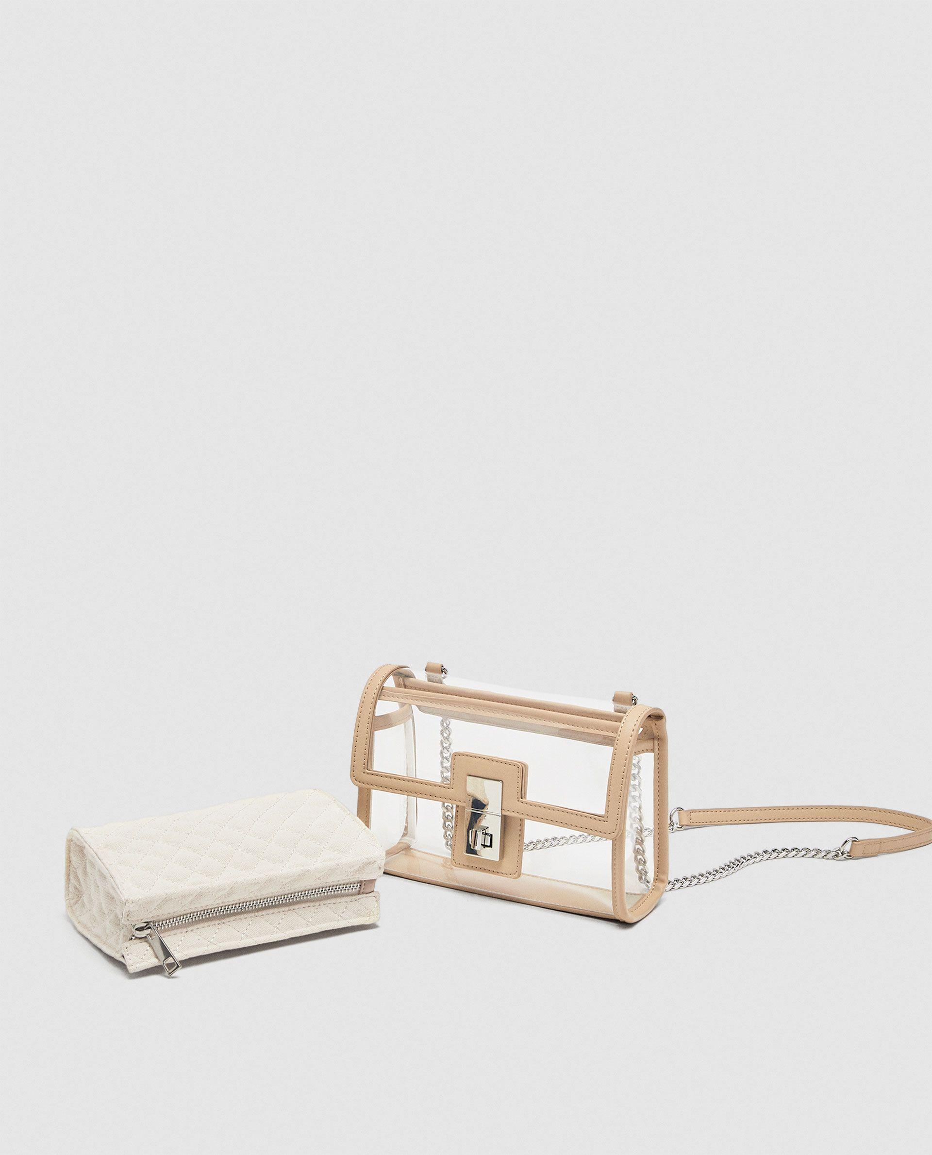 6407ee16c948    PVC Clear crossbody bags clutch Baginning Clear purse handbags Pvc clutch