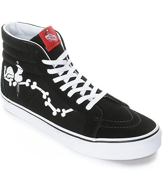 chanclas vans snoopy