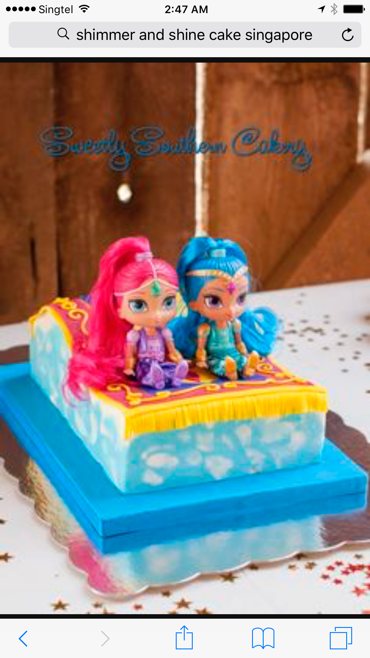 Girls 3rd Birthday Party Themes Cake Ideas Shimmer And