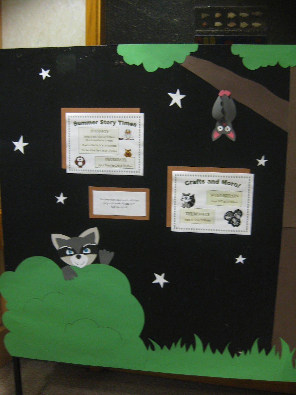 Bats Amp Racoons Board From Spectacular Story Time