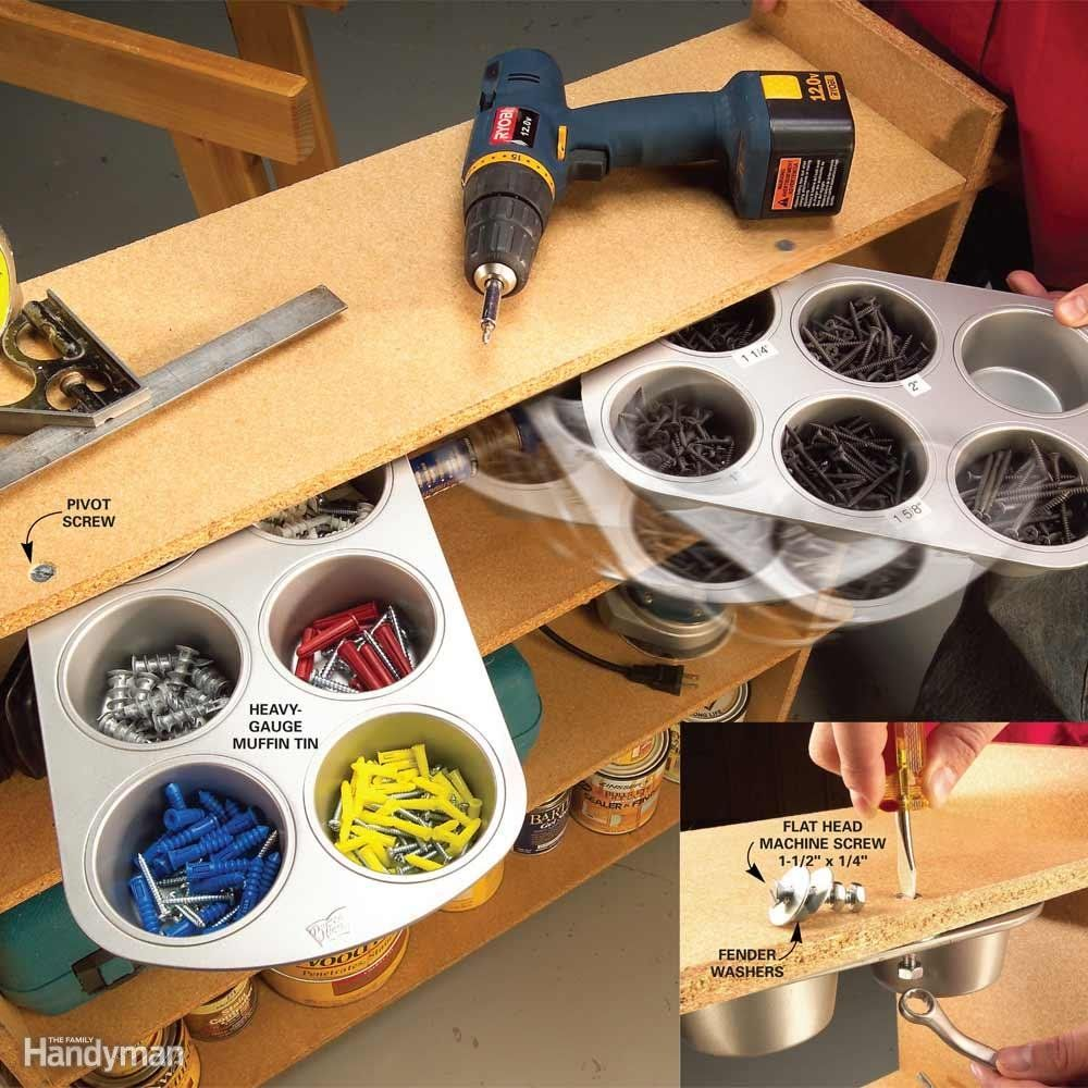 26 household items you didn t know you could use in your on cheap diy garage organization ideas to inspire you tips for clearing id=31006